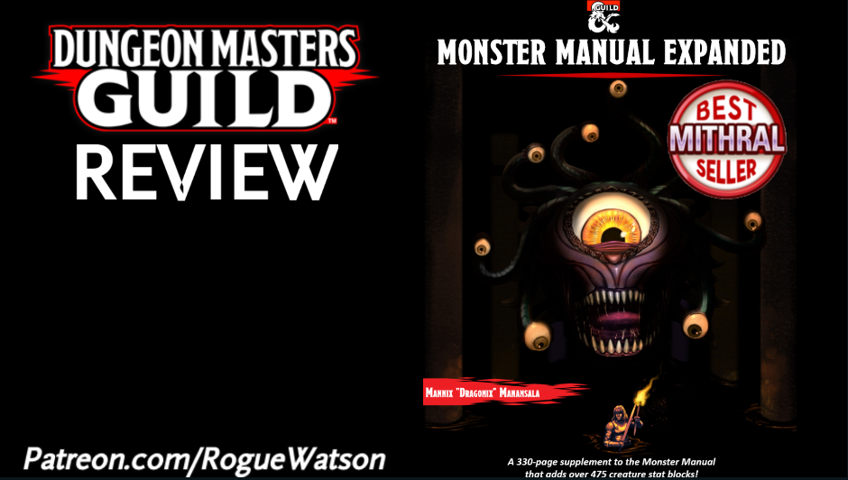 DMs Guild Review – Monster Manual Expanded