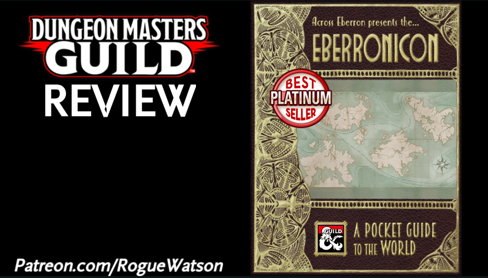 DMs Guild Review – Eberronicon: A Pocket Guide to the World
