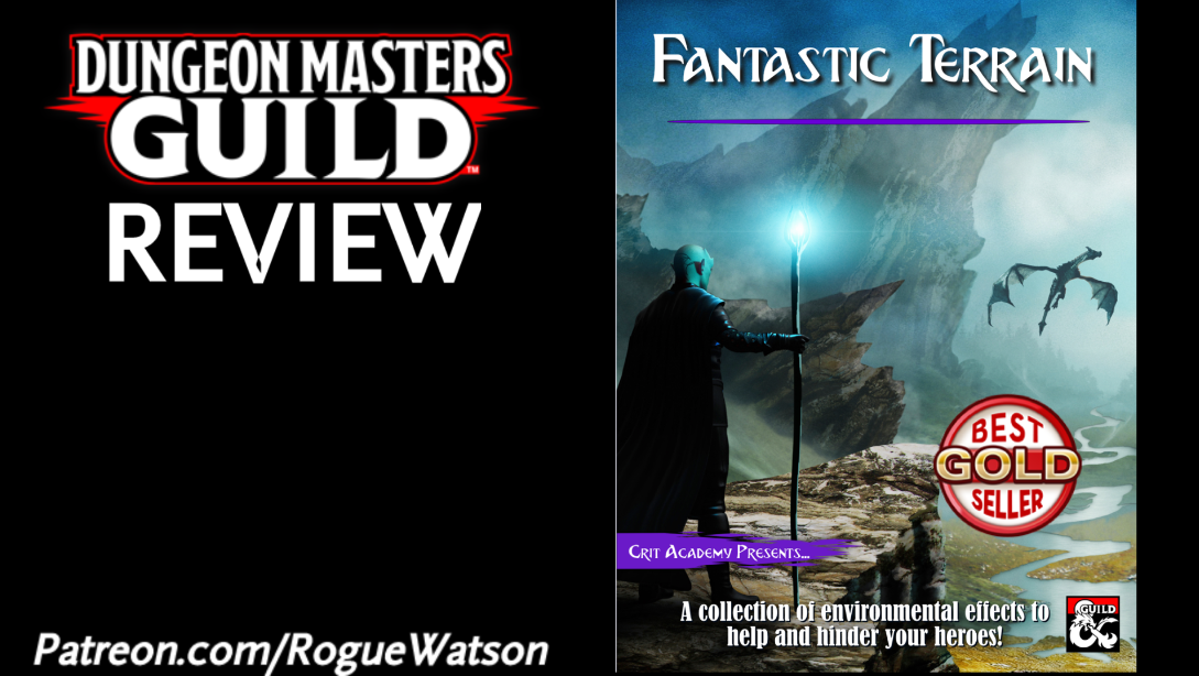 DMs Guild Review – Fantastic Terrain