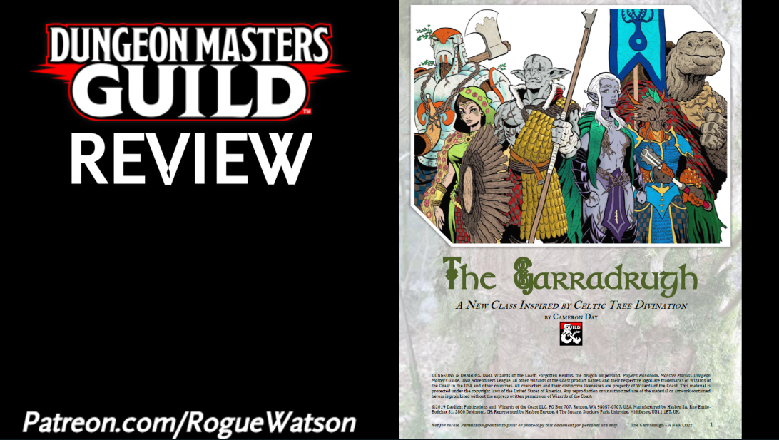 DMs Guild Review – The Garradrugh