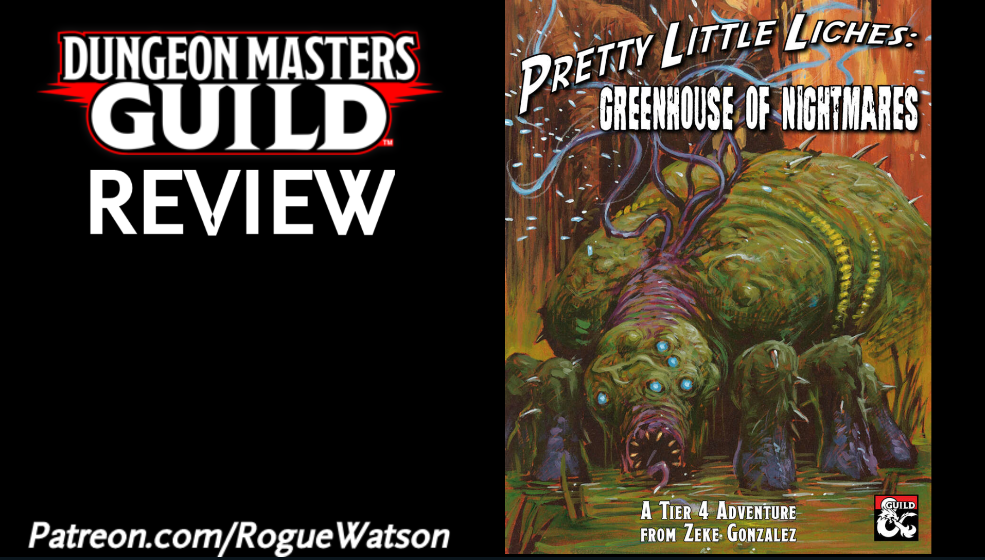 DMs Guild Review – Greenhouse ofNightmares