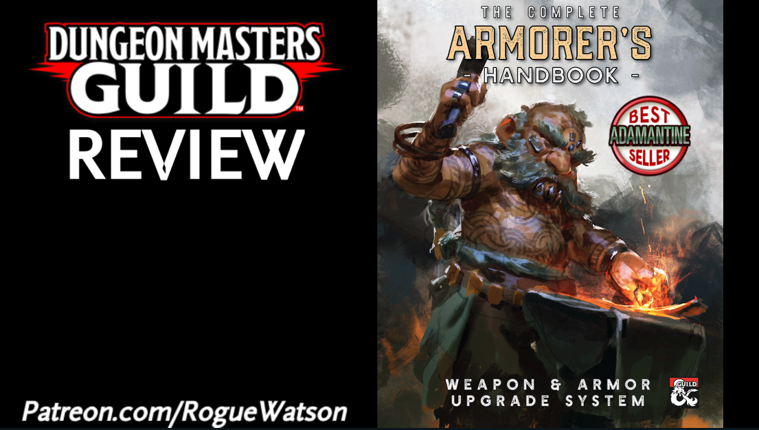 DMs Guild Review – The Complete Armorer's Handbook