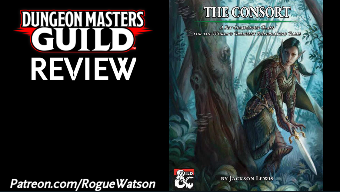 DMs Guild Review – The Consort