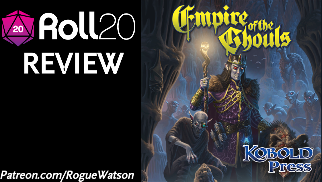 Roll20 Review – Empire of the Ghouls