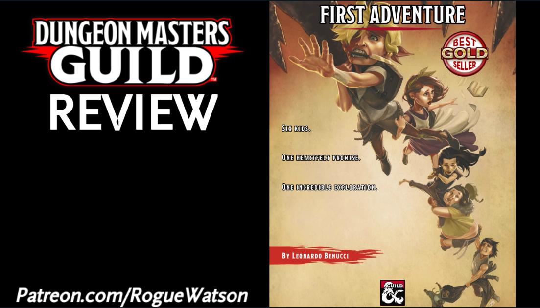 DMs Guild Review – FirstAdventure