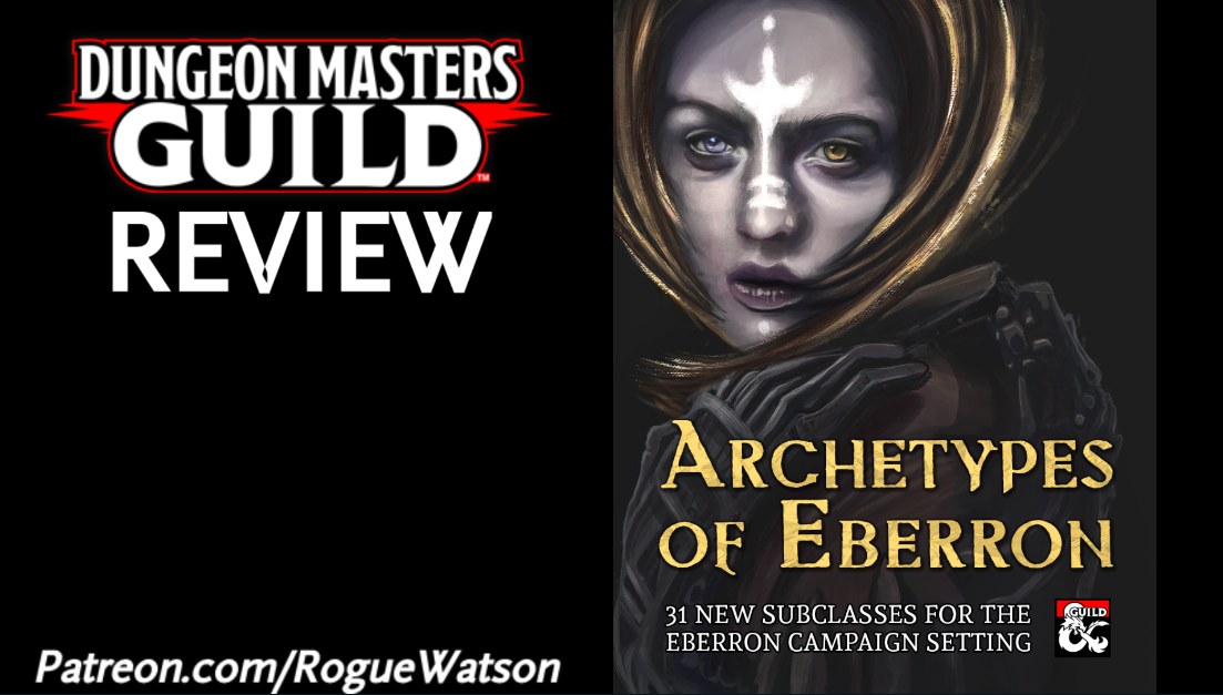 DMs Guild Review – Archetypes of Eberron