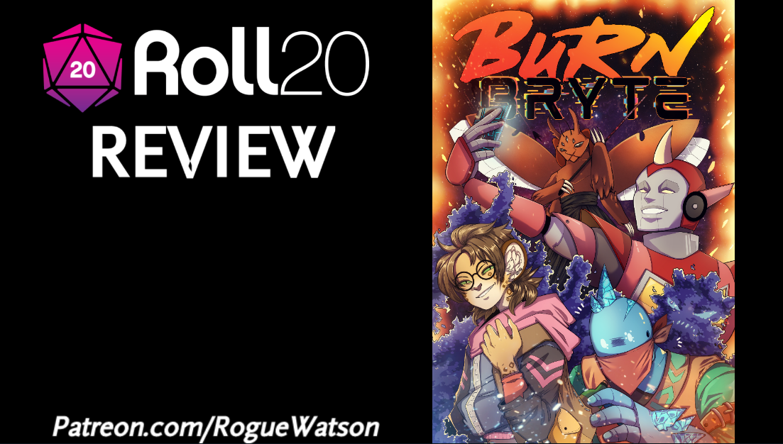 Roll20 Review – Burn Bryte