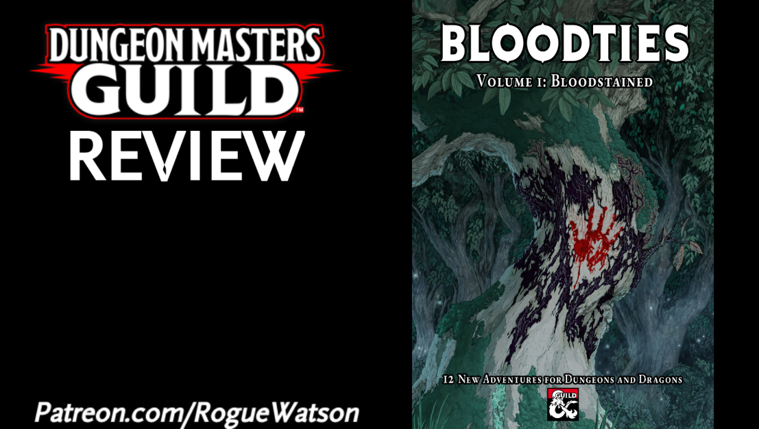 DMs Guild Review – Bloodties Anthology Volume 1: Bloodstained