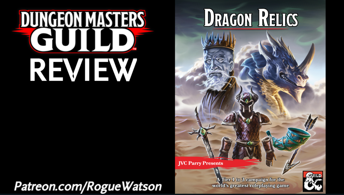 DMs Guild Review – Dragon Relics