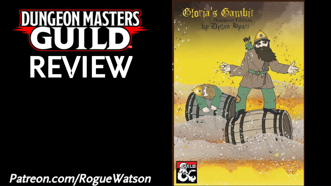 DMs Guild Review – Gloria's Gambit