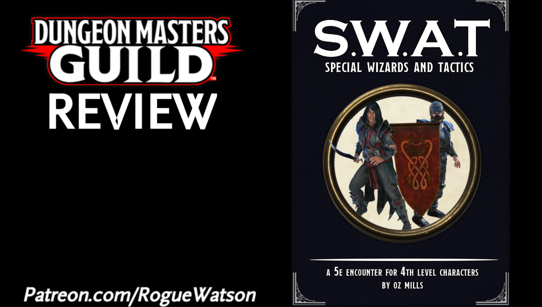 DMs Guild Review – SWAT: Special Wizards and Tactics