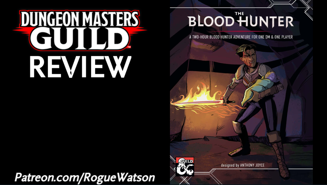 DMs Guild Review – The Blood Hunter