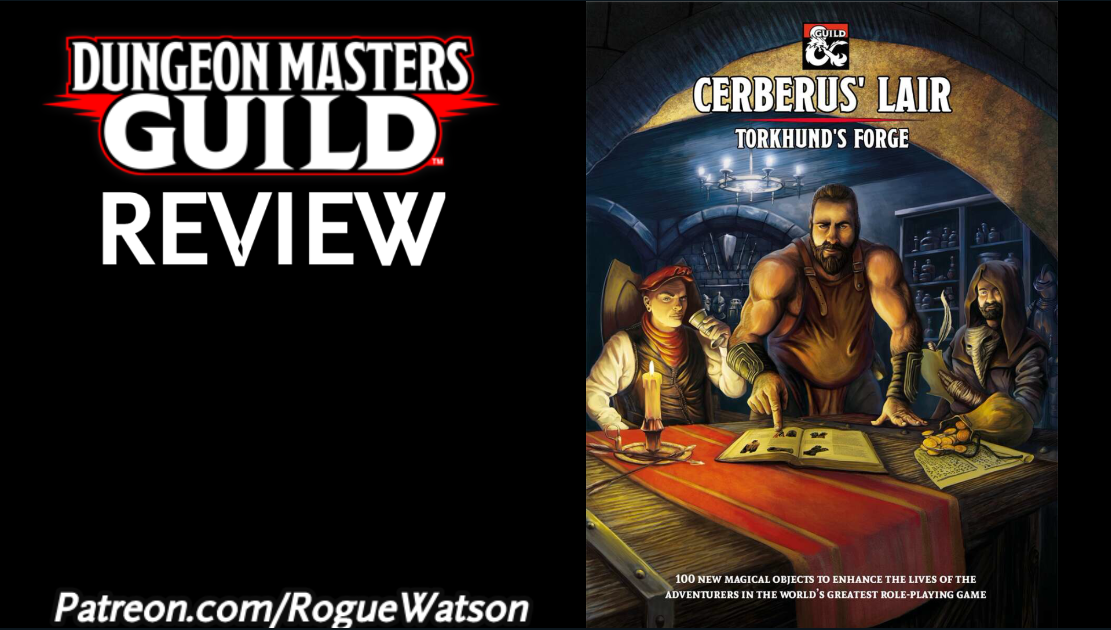 DMs Guild Review – Cerberus' Lair: Torkhund's Forge