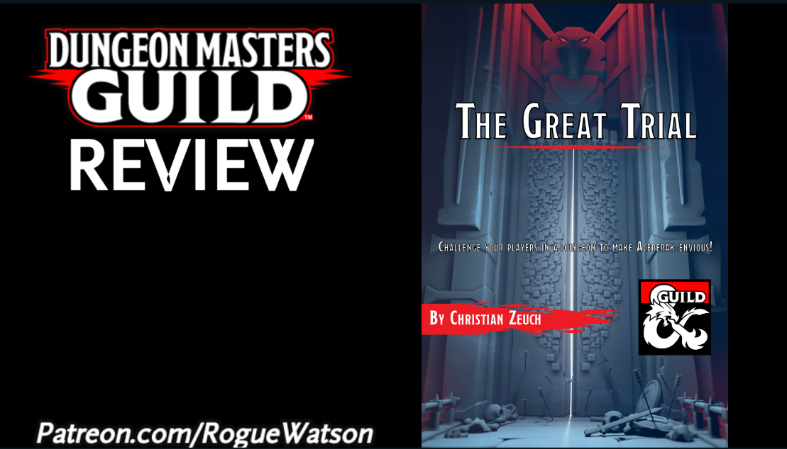 DMs Guild Review – The GreatTrial