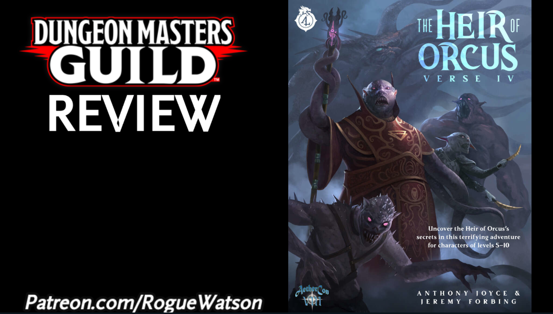 DMs Guild Review – The Heir of Orcus: Verse 4