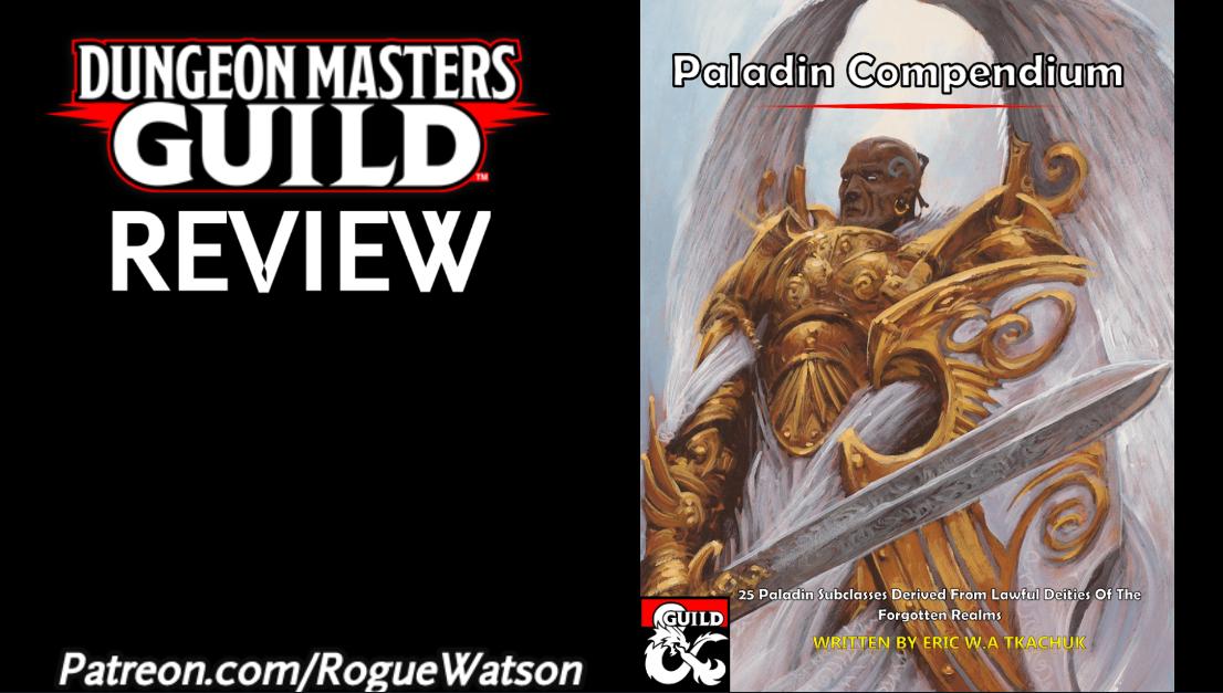 DMs Guild Review – PaladinCompendium