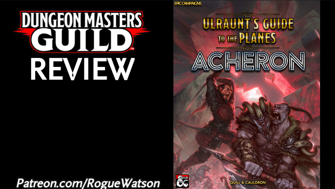 DMs Guild Review – Ulraunt's Guide to the Planes:Acheron
