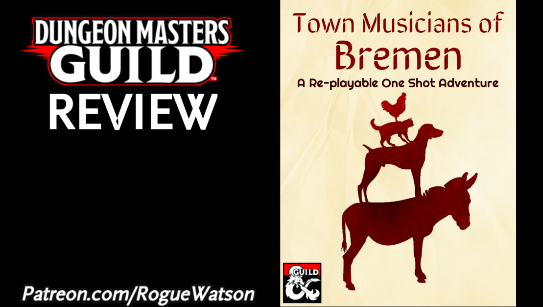 DMs Guild Review – Town Musicians of Bremen