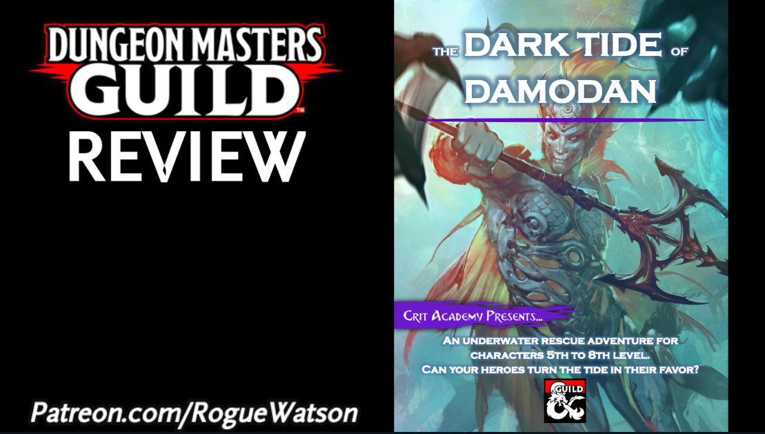 DMs Guild Review – The Dark Tide of Damodan