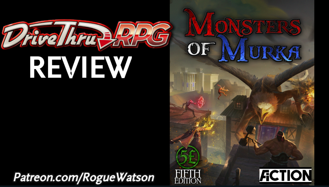 DriveThruRPG Review – Monsters of Murka