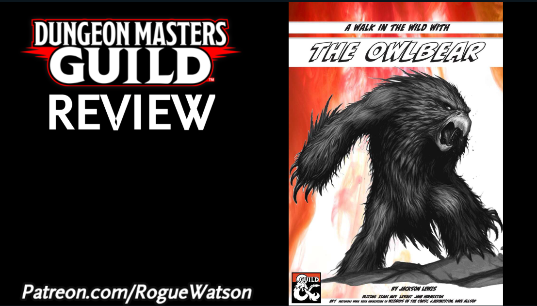 DMs Guild Review – The Owlbear
