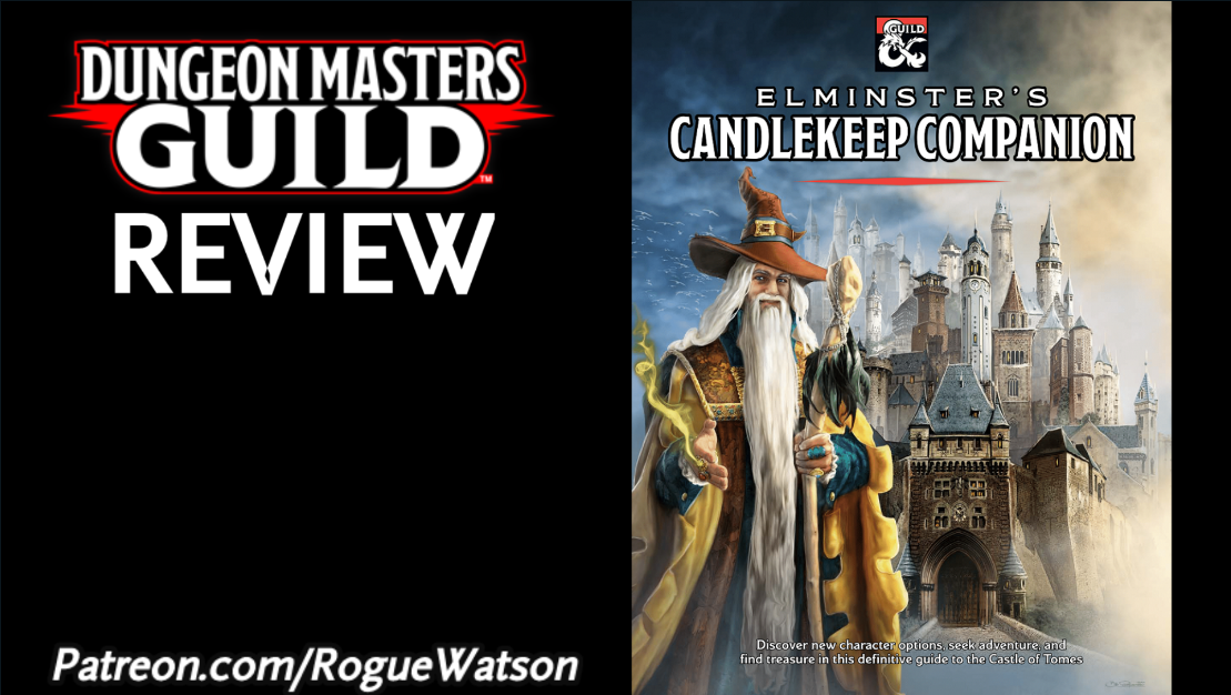 DMs Guild Review – Elminster's Candlekeep Companion
