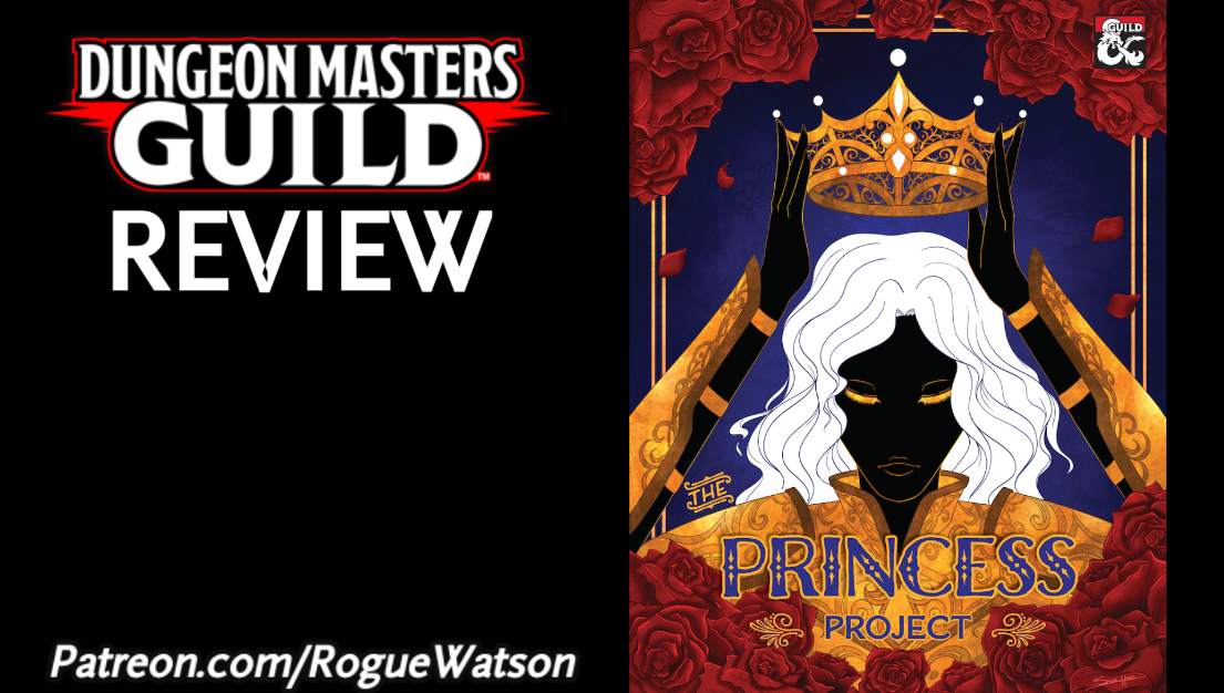 DMs Guild Review – The Princess Project