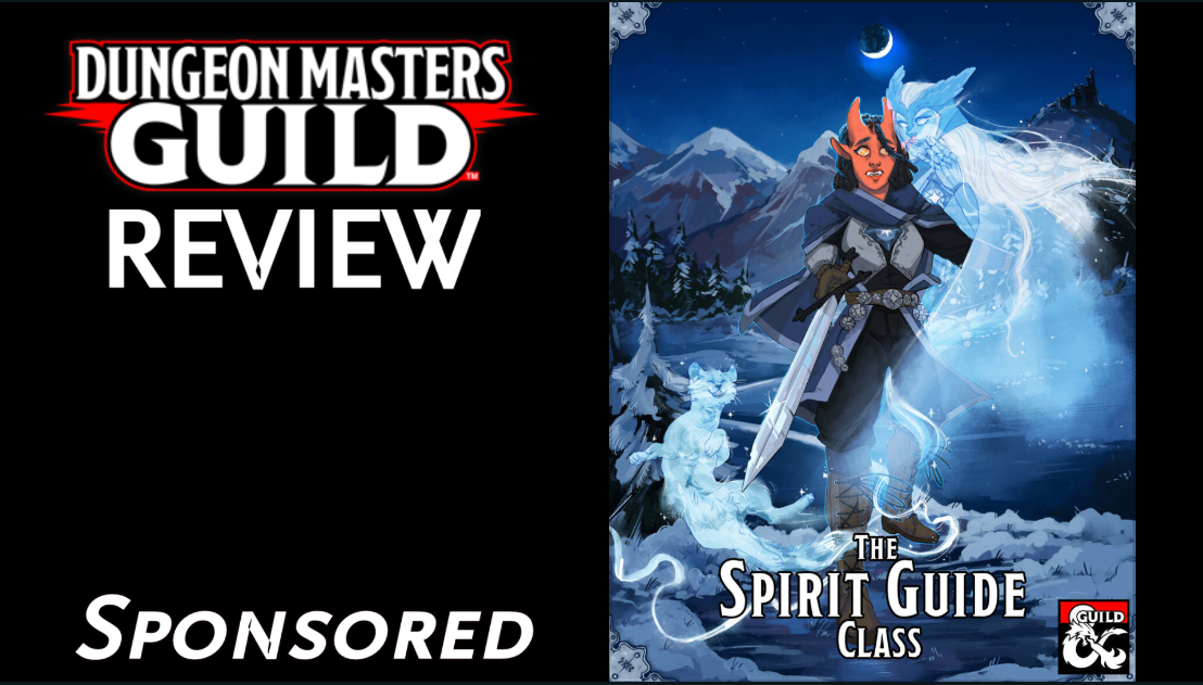 DMs Guild Review – The Spirit GuideClass