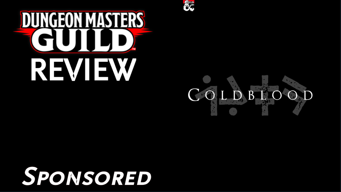 DMs Guild Review – ColdBlood