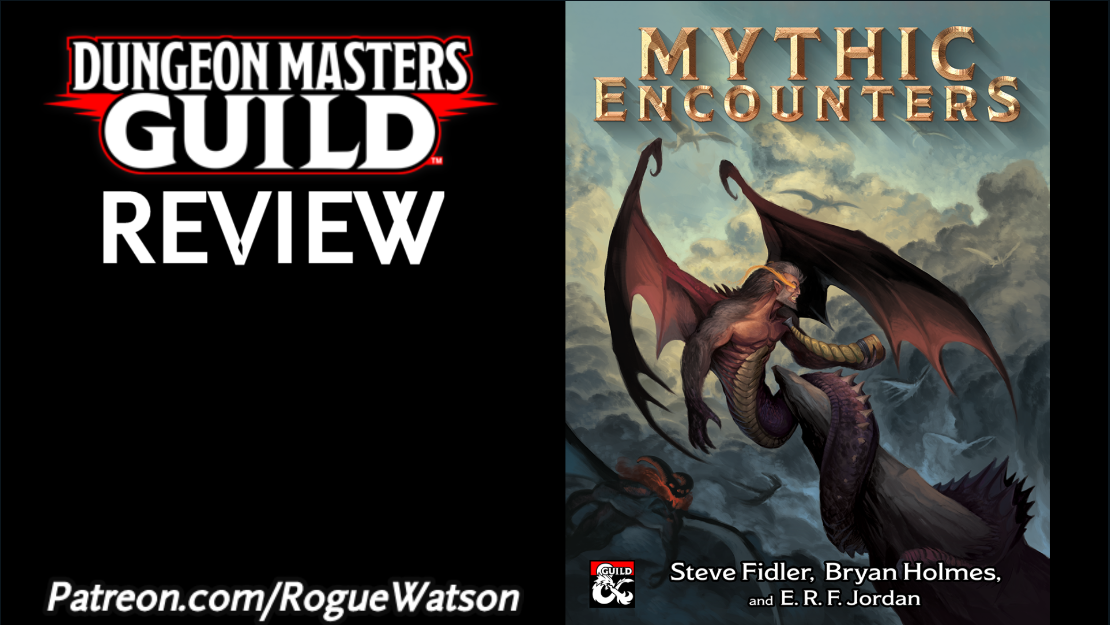 DMs Guild Review – Mythic Encounters