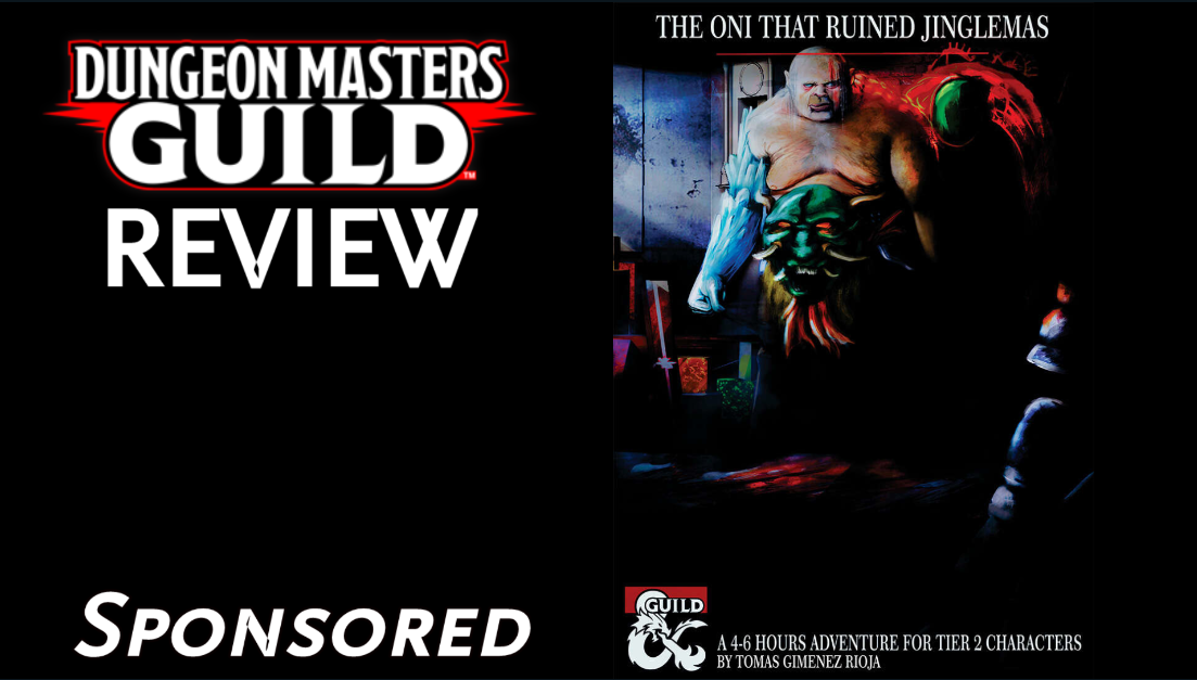 DMs Guild Review – The Oni That RuinedJinglemas