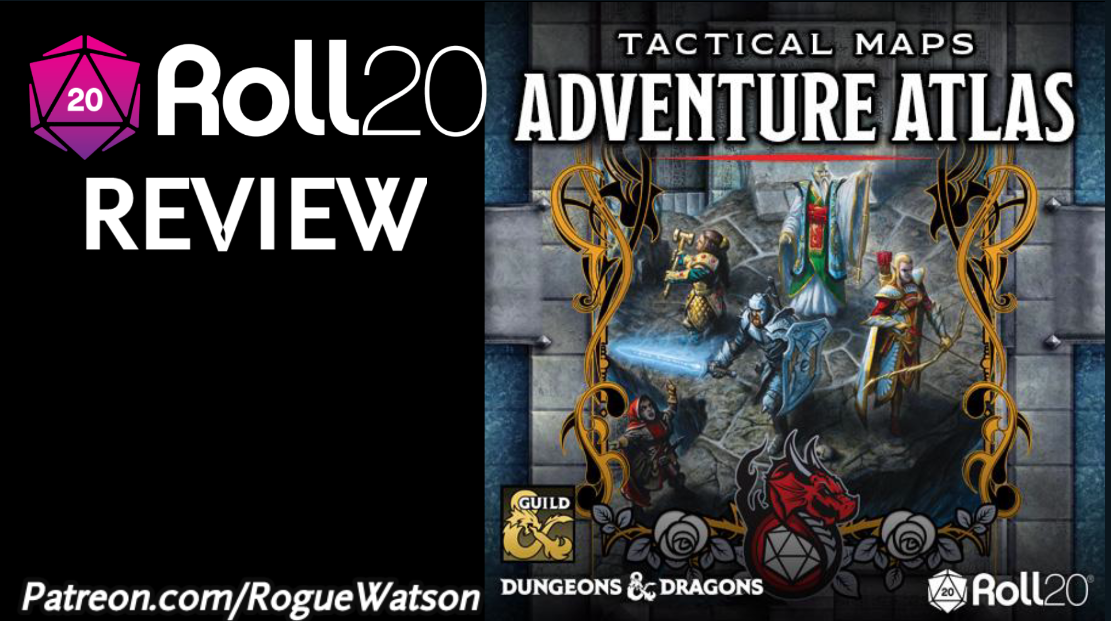 Roll20 Review – Tactical Maps Adventure Atlas + Tactical Maps Reincarnated