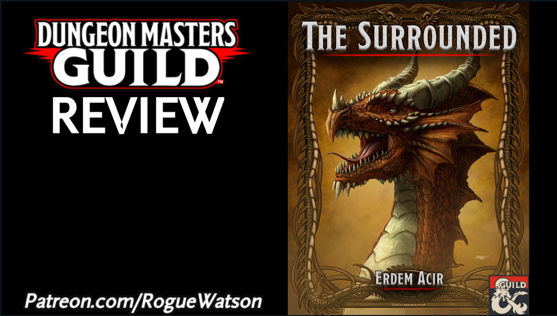 DMs Guild Review – The Surrounded