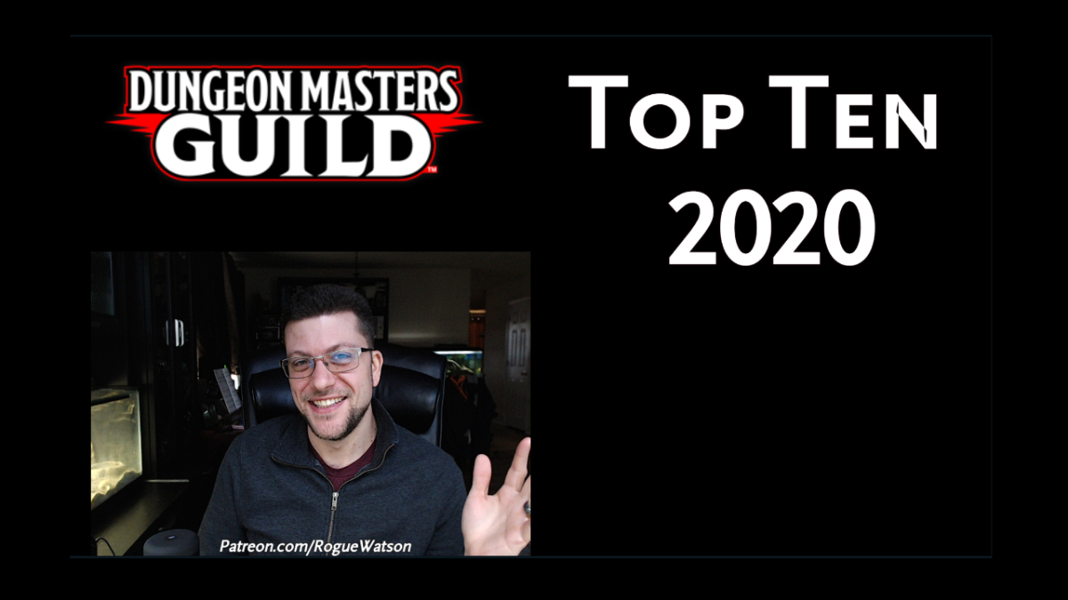 Top Ten DMs Guild Products 2020 [Video]