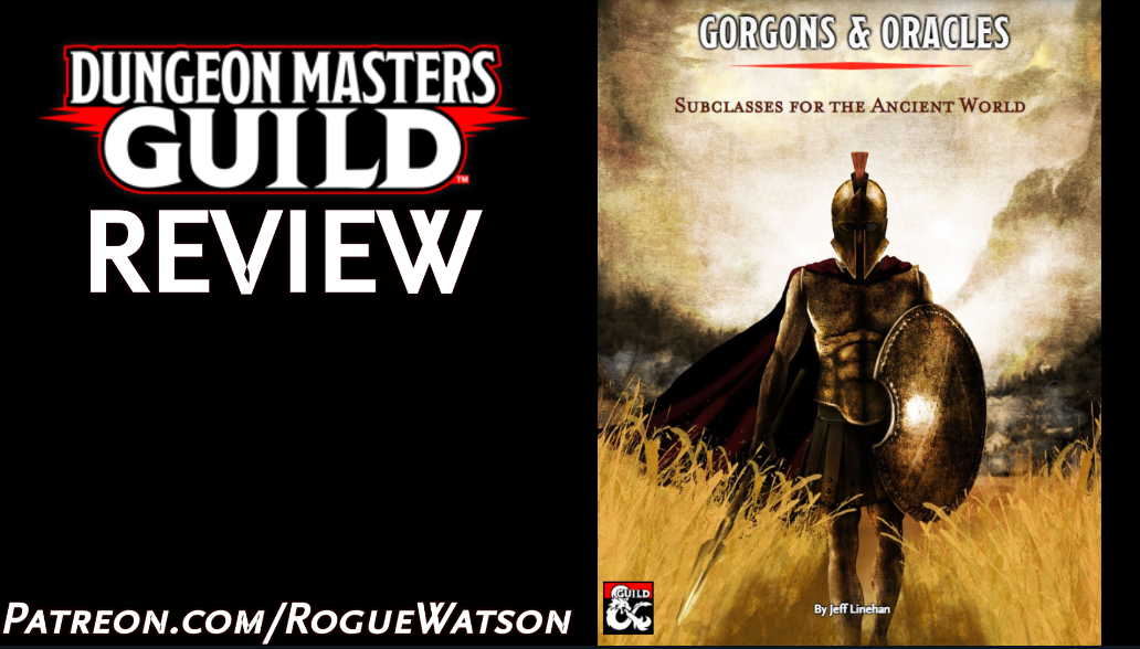 DMs Guild Review – Gorgons &Oracles