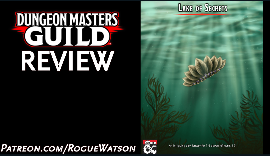 DMs Guild Review – Lake ofSecrets