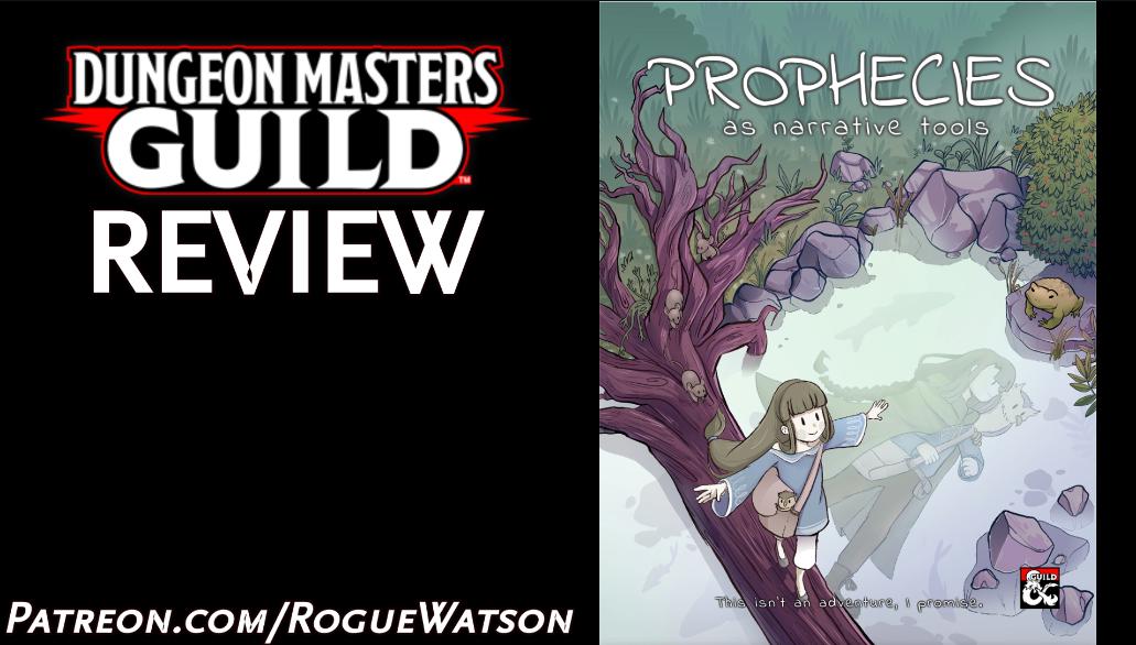 DMs Guild Review – Prophecies as NarrativeTools