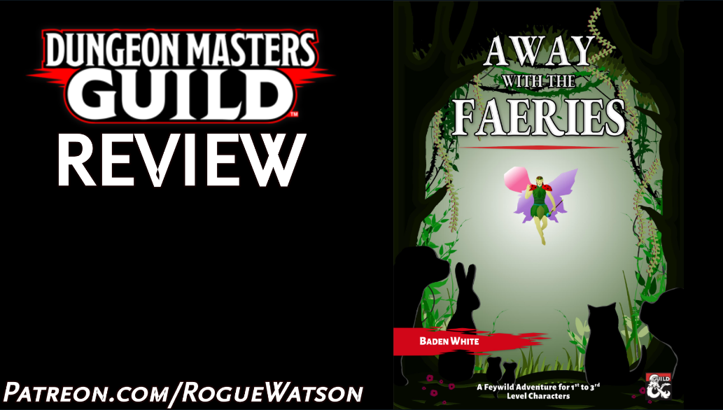 DMs Guild Review – Away with the Faeries