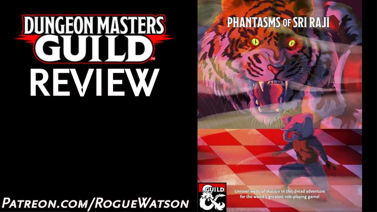 DMs Guild Review – Phantasms of SriRaji