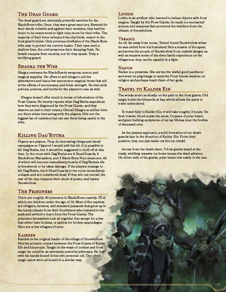 dead guard orcs