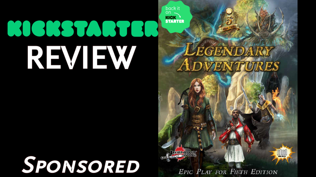 Kickstarter Review – Legendary Adventures: Epic Play for Fifth Edition