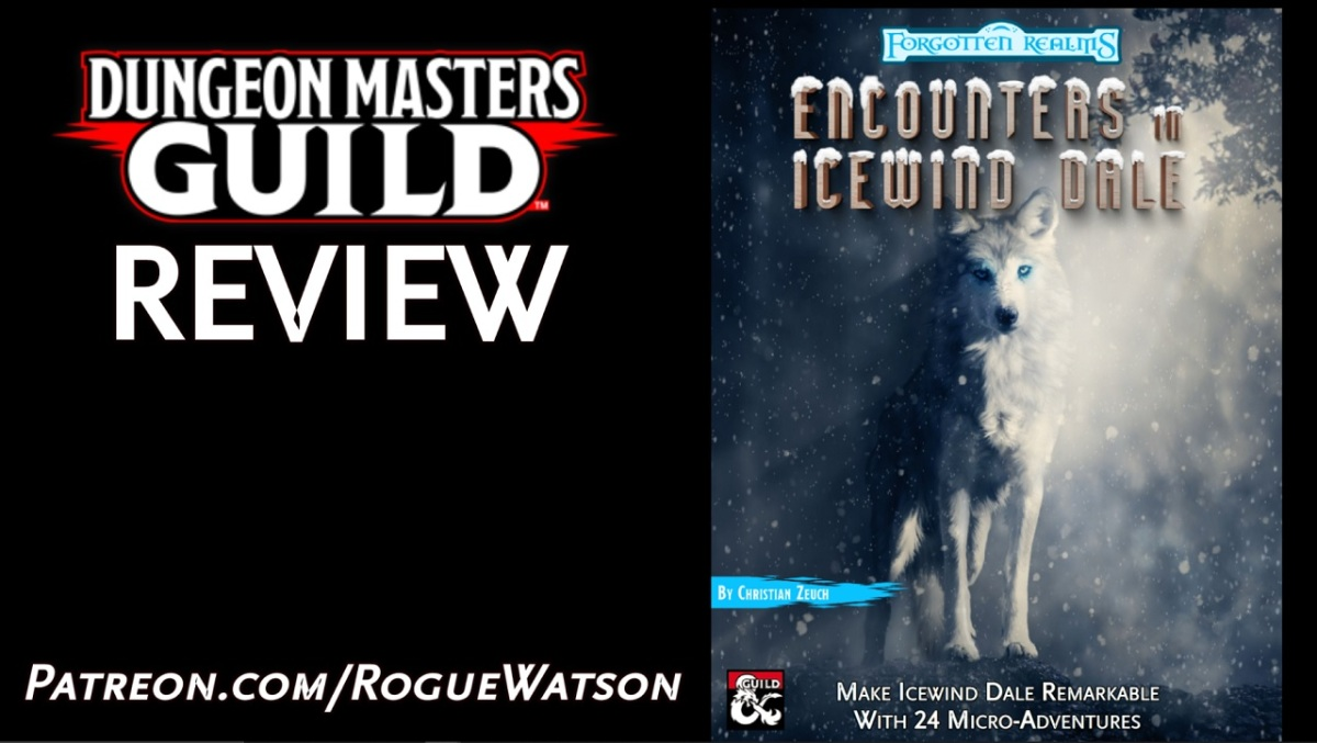 DMs Guild Review – Encounters in IcewindDale