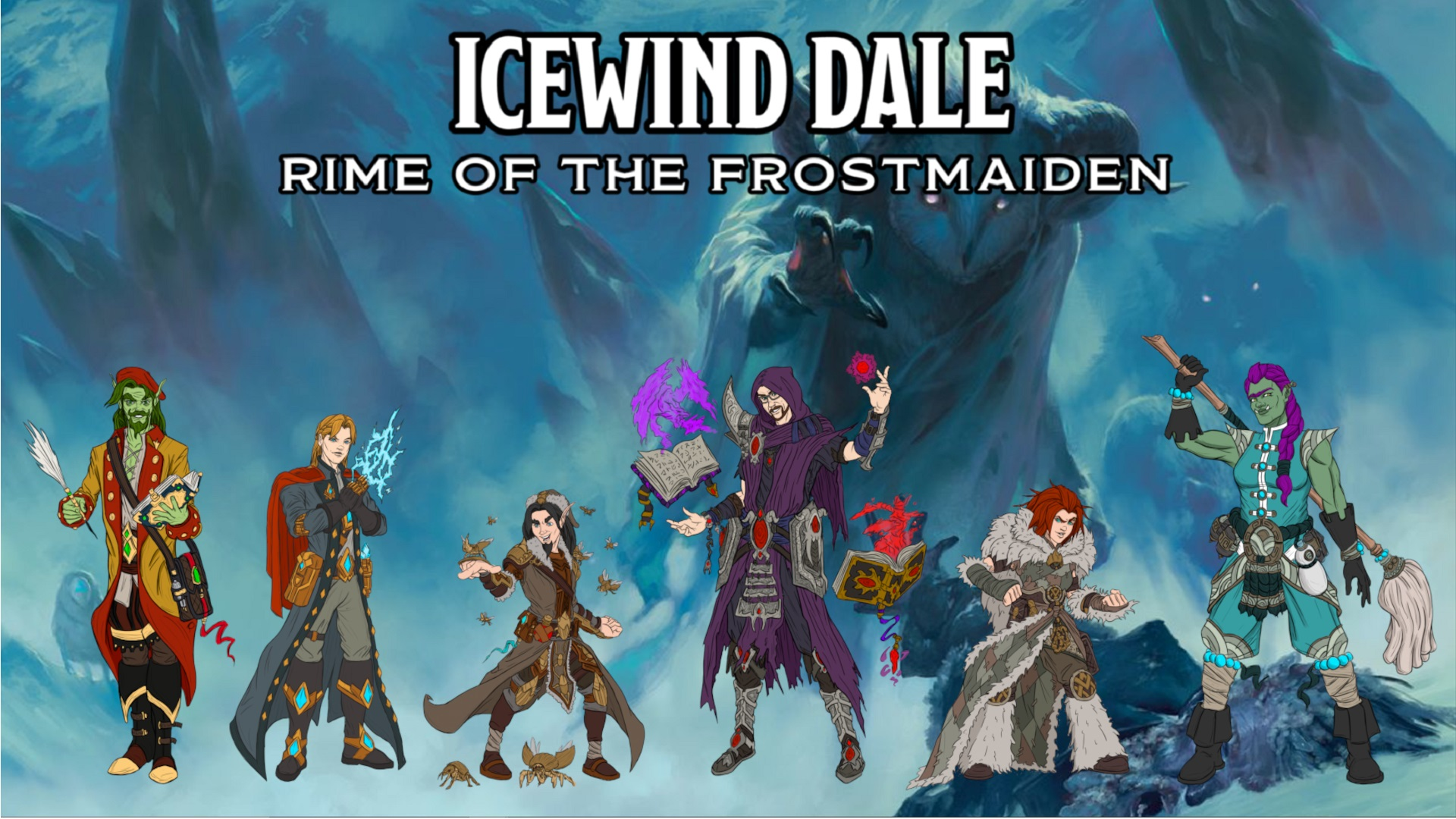 Icewind dale cover pic with PCs jpg
