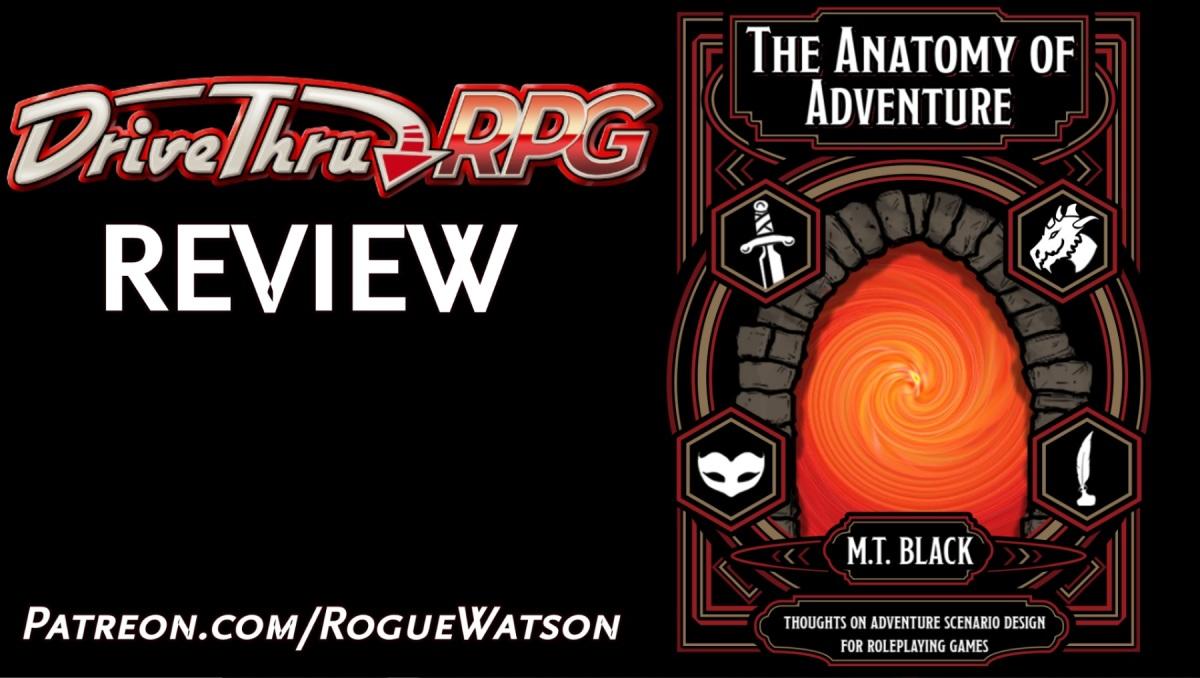 DriveThruRPG Review – The Anatomy ofAdventure