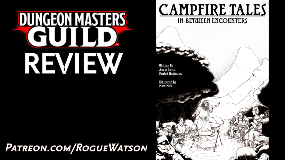 DMs Guild Review – Campfire Tales: In-BetweenEncounters