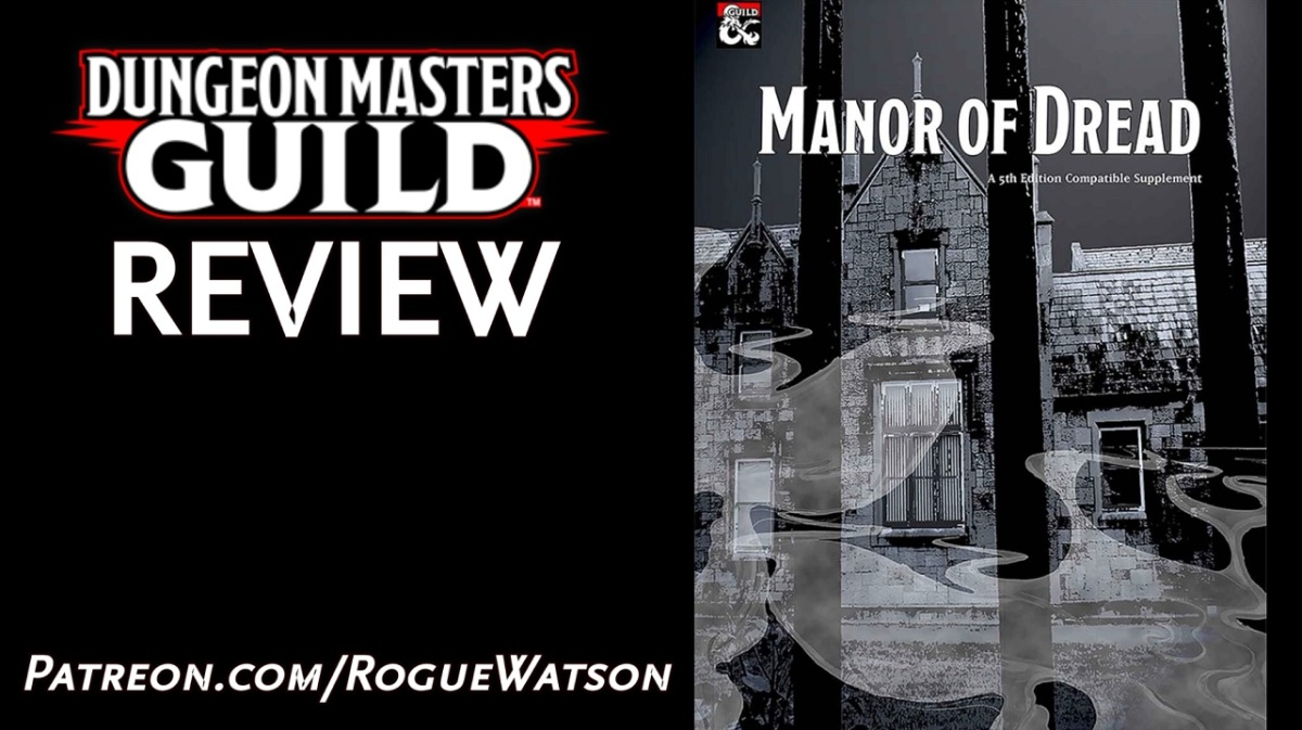 DMs Guild Review – Manor ofDread