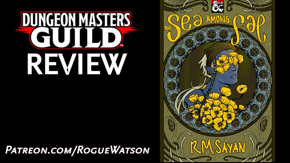 DMs Guild Review – The Sea AmongFae