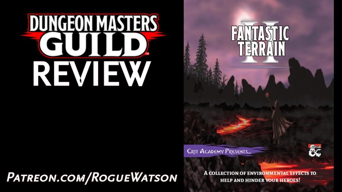 DMs Guild Review – Fantastic Terrain2
