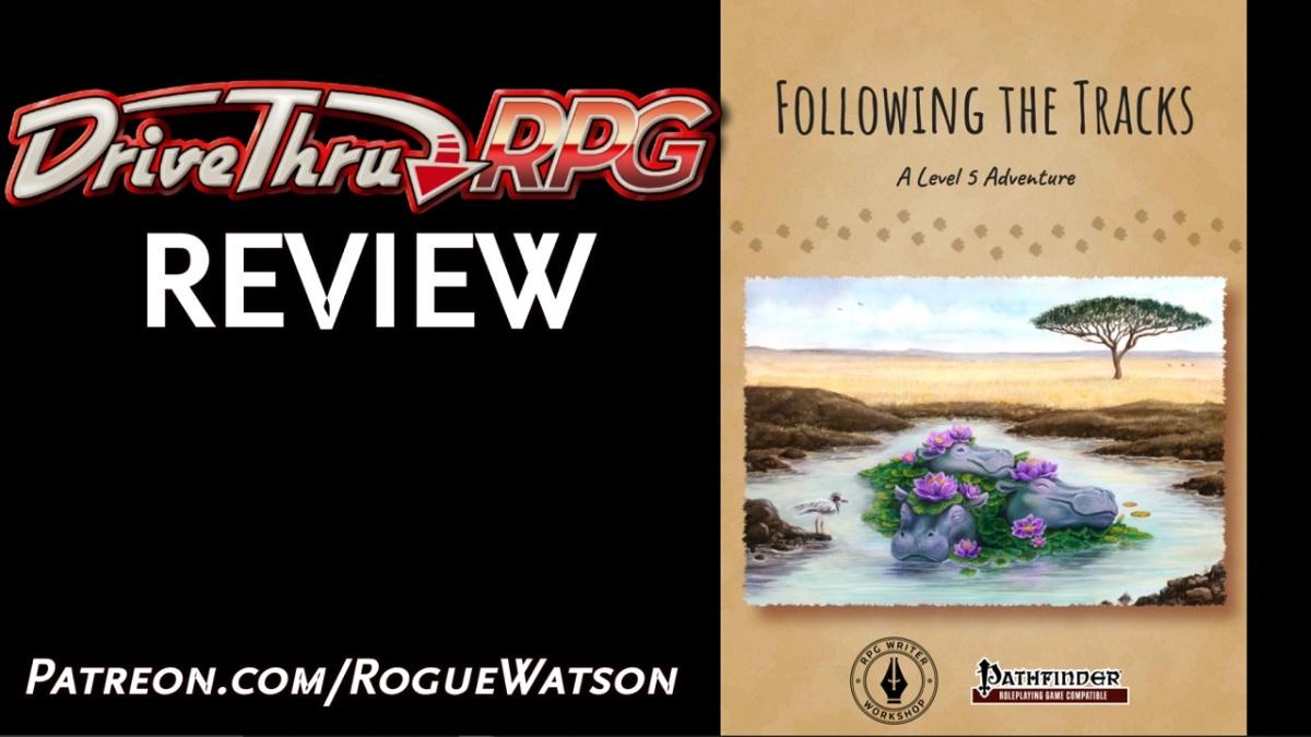 DriveThruRPG Review – Following theTracks