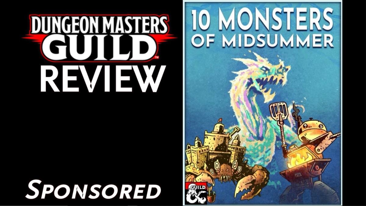 DMs Guild Review – 10 Monsters ofMidsummer